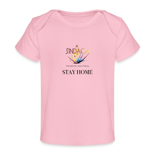 stay home03 - Baby Bio-T-Shirt
