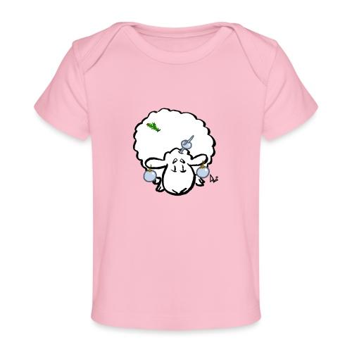 Juletre Sau - Økologisk baby-T-skjorte