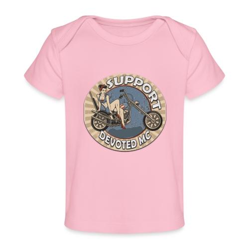T-Shirt DEVOTEDMC PINUP CAPTAIN - Økologisk baby-T-skjorte