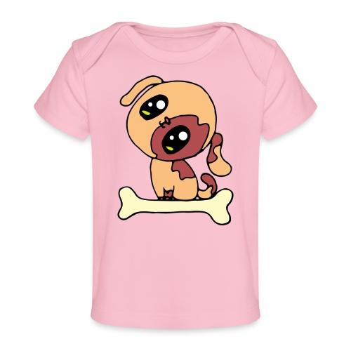 Kawaii le chien mignon - T-shirt bio Bébé