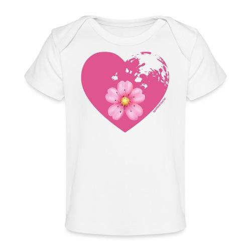 GINNY GUN LENAS LOGO - Maglietta ecologica per neonato