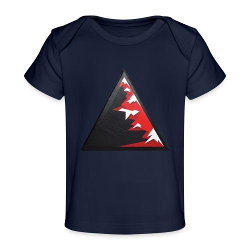 Climb high as a mountains to achieve high - Organic Baby T-Shirt