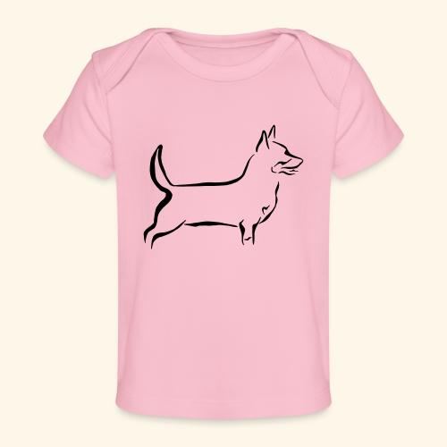 Lancashire Heeler - Vauvojen luomu-t-paita