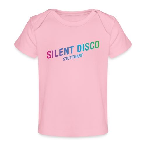 Silent Disco Stuttgart - Gradient - Baby Bio-T-Shirt