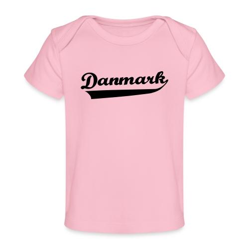 Danmark Swish - Økologisk T-shirt til baby