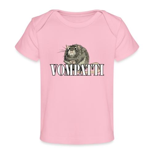 Vompatti - Vauvojen luomu-t-paita