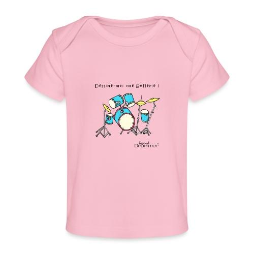 Luigi Drum - Organic Baby T-Shirt