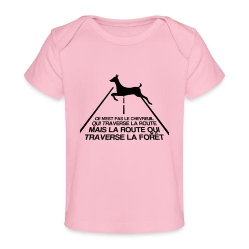 Chevreuil - T-shirt bio Bébé