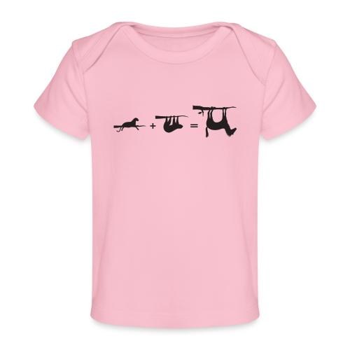 Lui paard Formule Luipaar - Baby bio-T-shirt