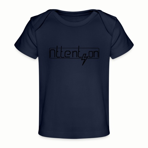 attention - Baby bio-T-shirt