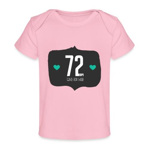 72DPI - Baby bio-T-shirt