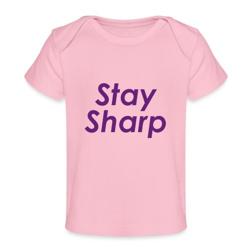 Stay Sharp - Maglietta ecologica per neonato