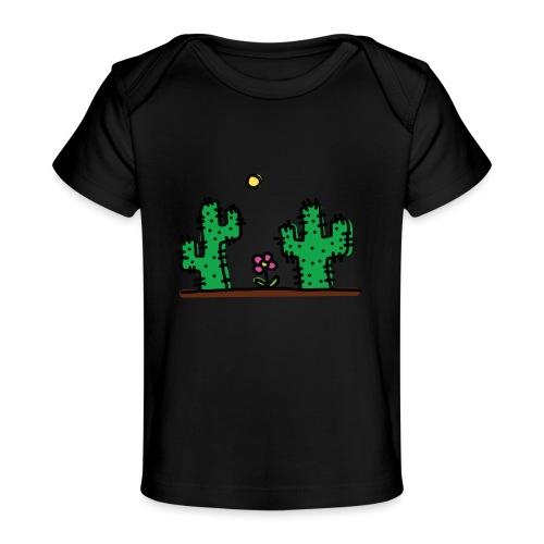 Cactus - Maglietta ecologica per neonato