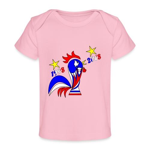 coupe du monde football 2018 mondial France 2018 - T-shirt bio Bébé