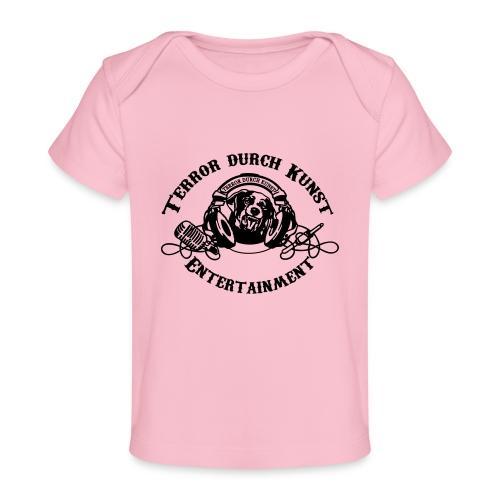 tdklogoschwarz 3 - Baby Bio-T-Shirt