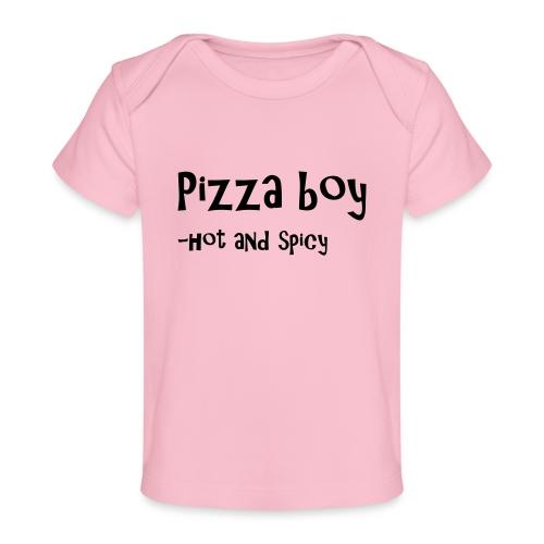 Pizza boy - Økologisk baby-T-skjorte