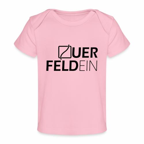 Querfeldein Logo - Baby Bio-T-Shirt