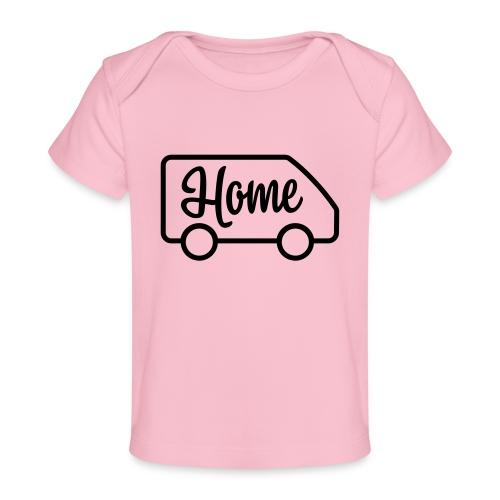 camperhome03a - Økologisk baby-T-skjorte