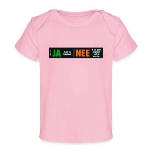 facebookvrienden - Baby bio-T-shirt