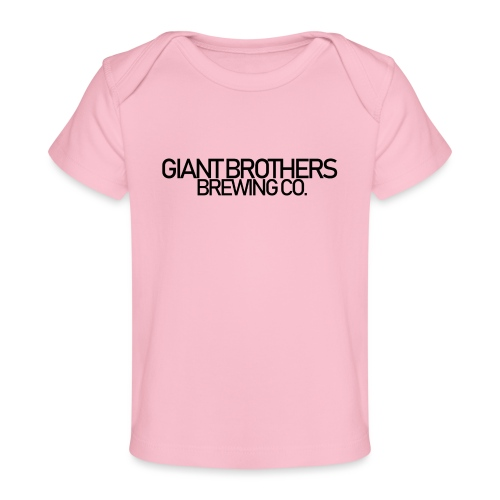 Giant Brothers Brewing co SVART - Ekologisk T-shirt baby