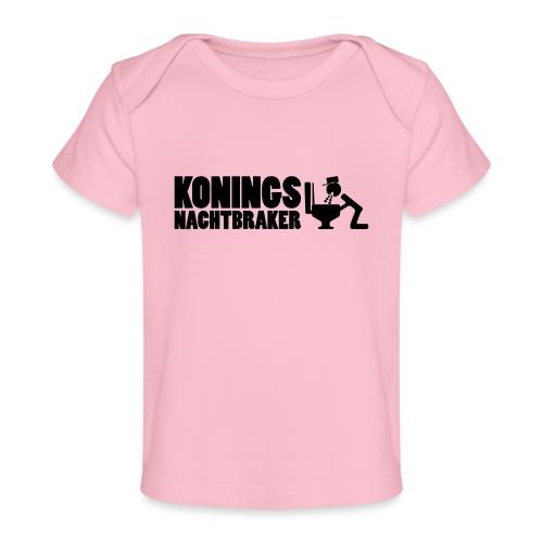 Koningsnachtbraker - Baby bio-T-shirt