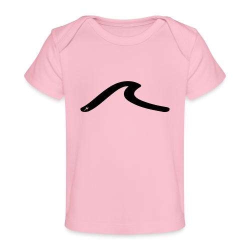 la vague multicolors - T-shirt bio Bébé