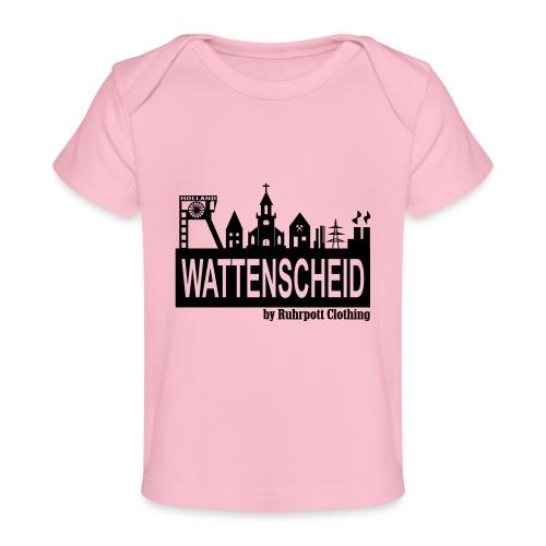 Wattenscheider Skyline by Ruhrpott Clothing - Baby Bio-T-Shirt