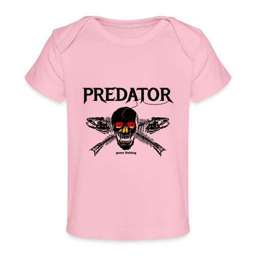 predator fishing / gone fishing - Baby Bio-T-Shirt