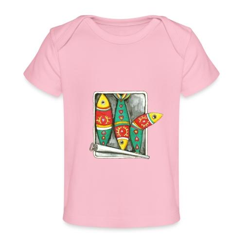 Les sardines du Portugal - T-shirt bio Bébé