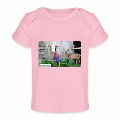 SenSi ♥ Hilfsprojekt für Kühe - Baby Bio-T-Shirt