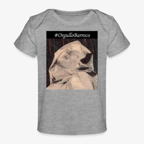 #OrgulloBarroco Teresa dibujo - Camiseta orgánica para bebé