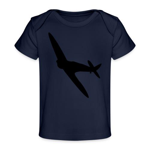 Spitfire Silhouette - Organic Baby T-Shirt
