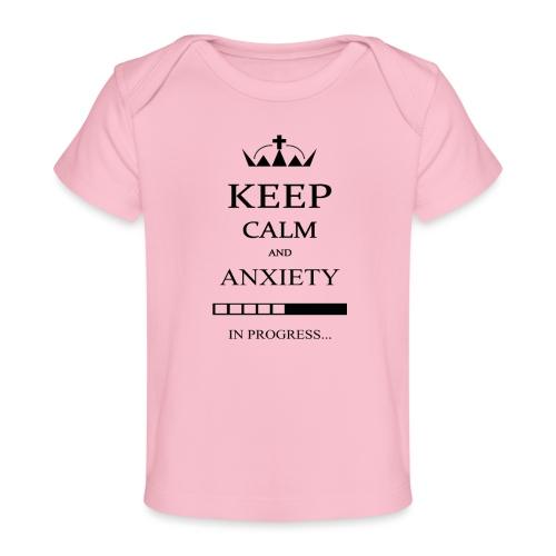 keep_calm - Maglietta ecologica per neonato