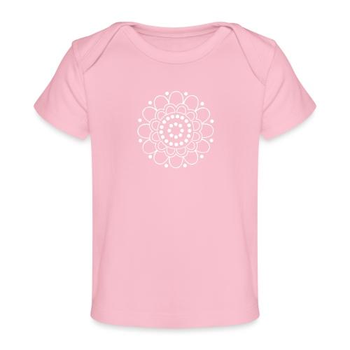 Helmikukka - Vauvojen luomu-t-paita