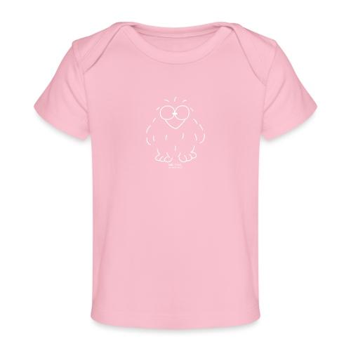 Niki Owl (blanco) - Organic Baby T-Shirt