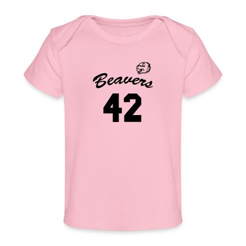 Beavers front - Baby bio-T-shirt