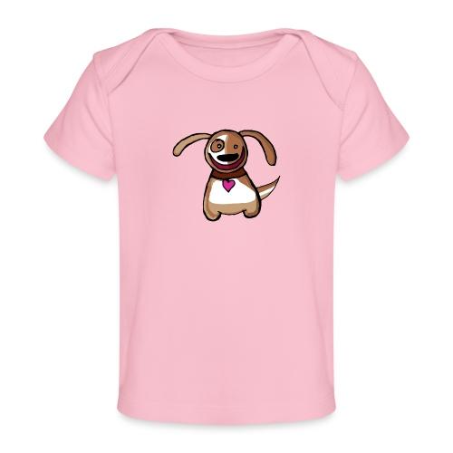 Titou le chien - T-shirt bio Bébé