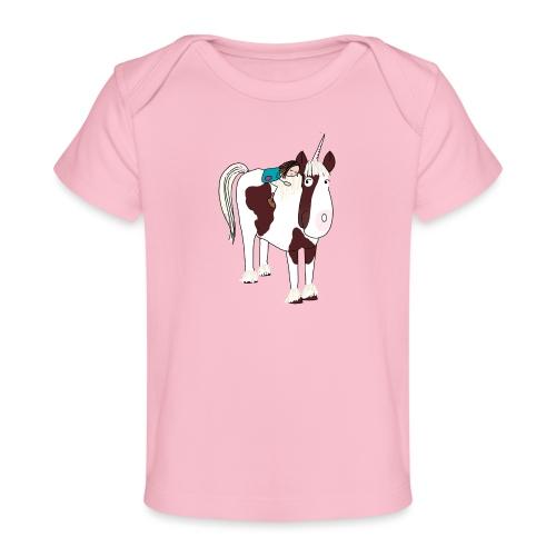 LOTTE und ein Einhorn - Baby Bio-T-Shirt