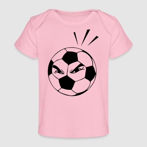 energischer Fußball - Baby Bio-T-Shirt