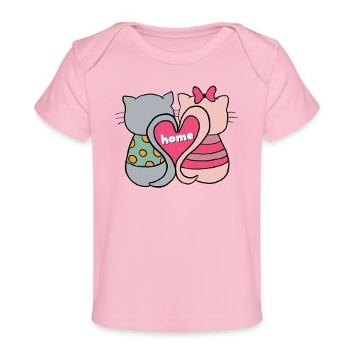 Cats - Organic Baby T-Shirt