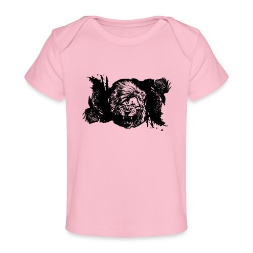 Raven & lion - T-shirt bio Bébé