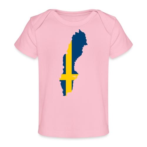Sweden - Baby bio-T-shirt