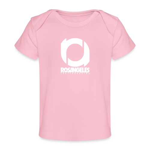 RosAngeles Logo - Maglietta ecologica per neonato