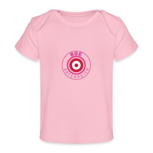 BGE in Österreich mit Fahne - Baby Bio-T-Shirt