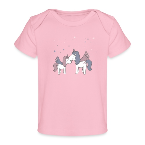 Little Unicorn - Baby Bio-T-Shirt