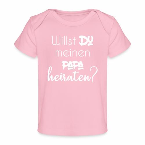 Heiratsantrag Body - Baby Bio-T-Shirt