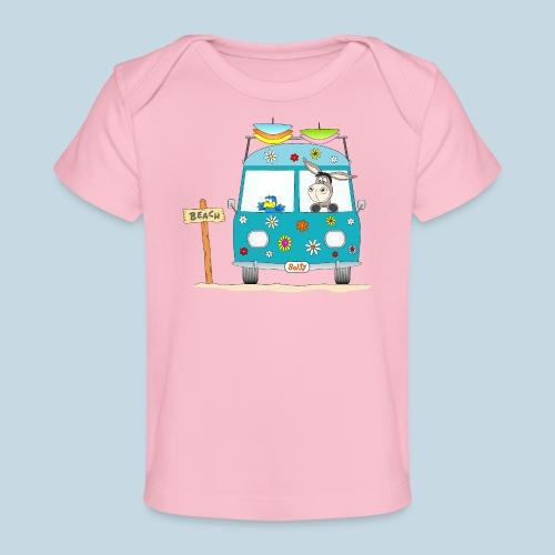 Wellenreiter Surfbus - Baby Bio-T-Shirt