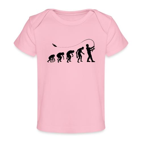Evolution of fischers - Baby Bio-T-Shirt