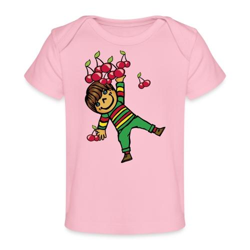 08 kinder kapuzenpullover hinten - Baby Bio-T-Shirt