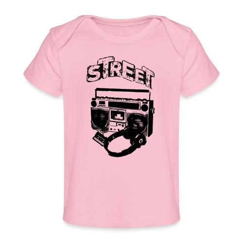 street 1 - Økologisk T-shirt til baby